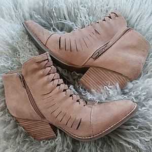 Coconuts By Matisse Tan Booties